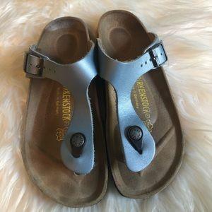 Birkenstock leather sandals EUC